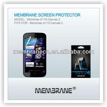 New Arrival, Grade A clear & anti glare/matte screen protector Micromax A110 Canvas 2