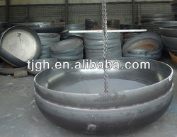 stainless steel pipe cap dn200 Russian gost