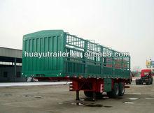 High quality 3 axles cargo truck trailer