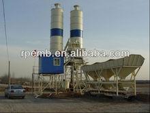 Hopper lift concrete batching plant Provider /long time guarantee concrete batching mixing plant for sale