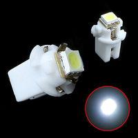 T5 B8.5D 5050 LED 1SMD Car LED Indicator Light Side Interior Lamp Bulb White