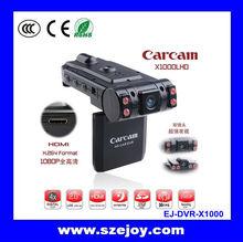 2.0 Inch Mini Night Version Car Black Box Dual Camera parking sensor