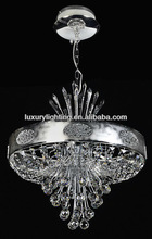 contemporary decorative K9 crystal pendant lamp with LED