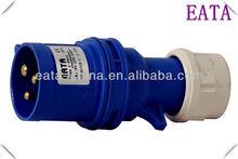 IP55 IEC/CEE WATERPROOF INDUSTRIAL POWER PLUG 3P 3PIN 16A 220V 013