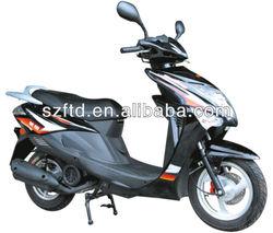 Gas moped chopper