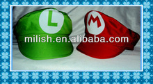 party red mario hat cap/green Luigi hat capMH-1560