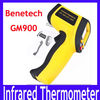 Free shipping Laser Point Industrial -50~900 Degrees Non-Contact Digital Infrared Laser IR Thermometer GM900