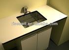 hpl vessel sink vanity base