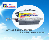 ac lead acid battery charger 12v 15a/shenzhen factory