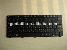 keyboards For Acer Emachines eM350 EM 350 NAV51 NAV50 SERIES NETBOOK US/RU keyboard Black