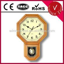 Plastic Pendulum Wall Clock WR-06657