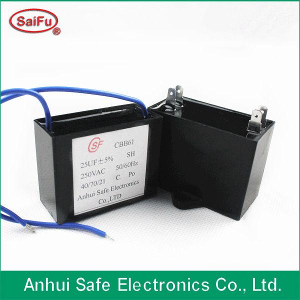 Plastic film capacitor
