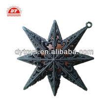 plastic Christmas tree decoration star toys
