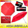 2013 new folding red umbrella with special ribs and shaft