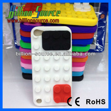 building block design silicone cover/case for new iPod touch 5th gen