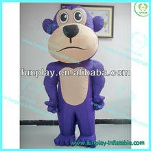 HI 2013 inflatable monkey cartoon characters