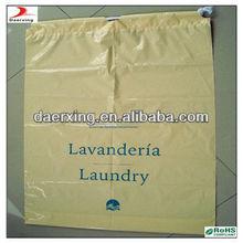 handmade drawstring laundry bag,uesd in hotel,made in DongGuan