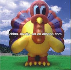 custom inflatable turkey bird model,inflatable advertising animal model