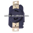 generator plug and socket NEMA L5-30R YGB-055 Uchen CUL US standard