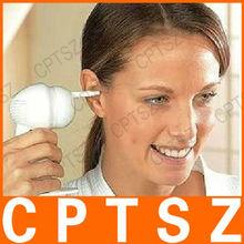 Eléctrico portátil la oreja abs cleaner - blanco ( 2 x aa )
