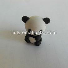 3D panda shaped animal eraser