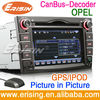 "6.2"" 2 Din Can bus For OPEL Car GPS DVD Erisin ES1526P"