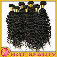2012 Best Selling Products Top Grade Virgin Deep Curl Braiding Human Hair