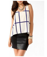 Women sleeveless blouses for office casual wear ,fashion tops wholesale for petite women