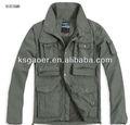 Homem ao ar livre velo jaqueta de inverno roupas de caça