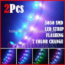 Brand new!!! 1210 3528 5050smd 8806 LED strip + IR Remote Control + Power Supply