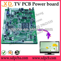 osp 1 oz copper thickness pcb board for 52 lcd tv circuit