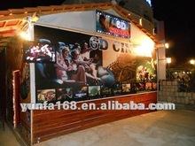 6D cinema in Albania