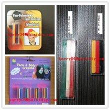 6color face paint pen ,pass EN71-3 ball game promotion gift