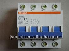 C45 4P Miniature Circuit Breakers C Curve