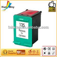 Hueway inks! edible print inks compatible cartridge acrylic inkjet printer for hp C8766H 135