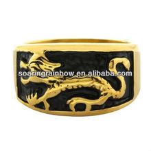 gold dragon ring