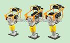 4hp Robin Gasoline Soil sand gravel power rammer/tamping rammer (CE),77kg,14kn,4-8cm Jumping Stroke,33*28.5cm Shoe Size