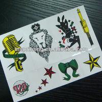 stars lion sheet temporry custom tattoo