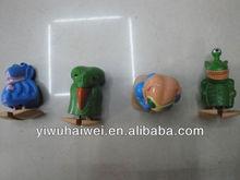 plastic small mini animal figurine toys