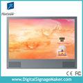 """32"""" 1920x1080p numérique lcd publicité vidéo affichagecalendrier avec structure en métal"""