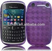 New Diamond Shape TPU Soft back Case for Blackberry Curve 9220 9320
