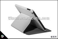 High quality pc hard back leather case for ipad mini