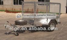 2013 heavy duty single/tandem axle utility box/cargo/cage trailer