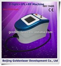 2013 New style E-light+IPL+RF machine www.golden-laser.org/ handel 808