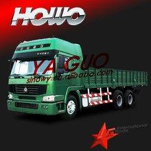 Howo 6*4 cargo truck sino better than brand new toyota van