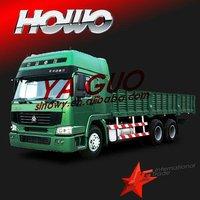 Howo 6*4 cargo truck sino better than chana van