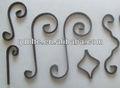 la mejor calidad de adornos de hierro forjado