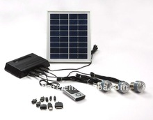 portable led solar home system for lighting