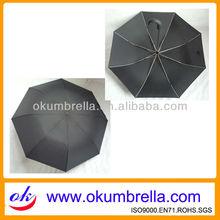 """23""""x8k 2 folds curve or hook handle umbrela for men"""