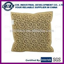 Wool felt cushion